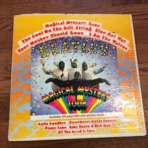 The Beatles magical mystery tour record